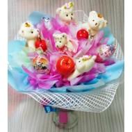 Букет из конфет Kinder сюрприз 2